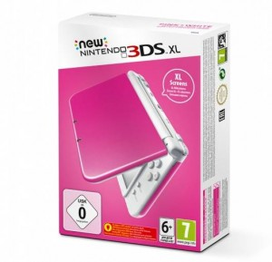 Konsola New Nintendo 3DS XL Pink + White