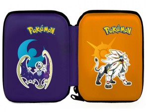 New 3DS XL Hard Pouch - Pokemon Sun and Moon
