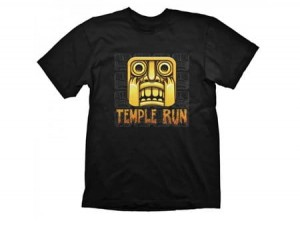 T-Shirt Temple Run Scary Face - L