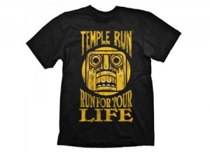T-Shirt Temple Run For Your Life - L