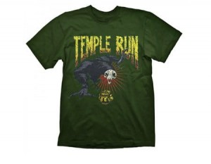 T-Shirt Temple Run Don't Look Back - L