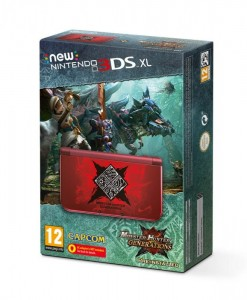 Konsola New Nintendo 3DS XL Edycja Monster Hunter Generations
