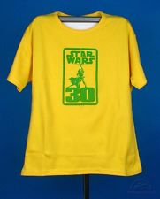 T-Shirt Star Wars Celebration Vintage-Yellow (L)