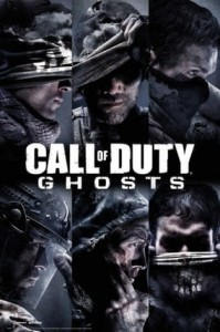 Plakat Call Of Duty Ghosts Profiles [FP3130]
