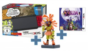 Konsola New Nintendo 3DS Czarny Zelda Bundle