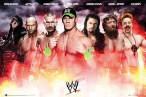 Plakat WWE Collage 2014 [SP1084]