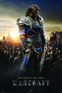 Plakat Warcraft (Lothar) - Two Worlds, One Home [PP33705]