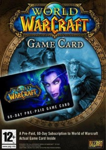 Karta pre-paid World of Warcraft