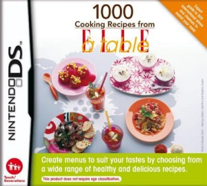 1000 cooking recipes from elle a table (używ.)