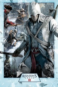 Plakat Assassins Creed III (3) Collage [FP2781]
