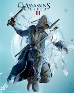 Plakat Assassins Creed III (3) Attack [MP1451]