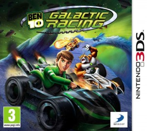 Ben 10 Ultimate Alien: Galactic Racing (3DS)