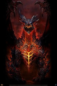 Plakat World of Warcraft (Deathwing) [PP32600]