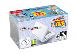 Konsola New Nintendo 2DS XL White&Levander + Tomodachi
