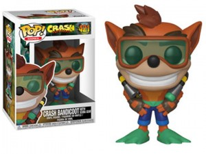 Figurka POP! Crash Bandicoot: Scuba Crash #421