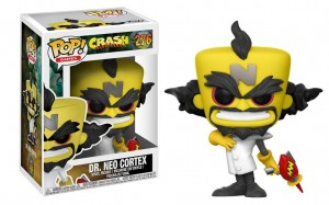 Figurka POP! Crash Bandicoot: Neo Cortex #276
