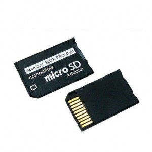 Adapter microSD na MS PRO Duo do PSP