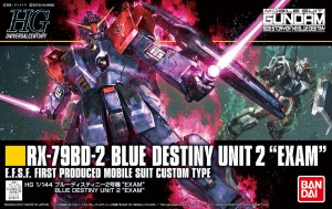HGUC 1/144 BLUE DESTINY UNIT 2 EXAM