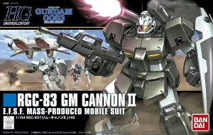 HGUC 1/144 RGC-83 GM CANNON II