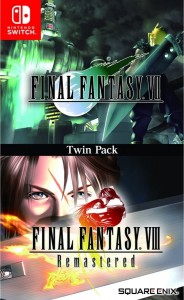 Final Fantasy VII VIII Remastered Twin Pack