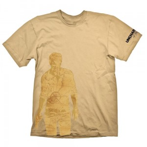 Uncharted 4 Nathan Drake Map T-Shirt