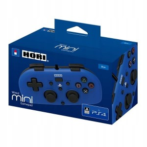 Pad Mini do PS4 (DS4) na USB (niebieski)
