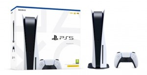 Konsola Sony PlayStation 5 (PS5) z BD (PREMIERA:19/11/2020)