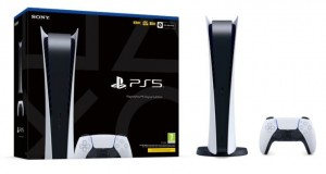 Konsola Sony PlayStation 5 (PS5) Digital Ed. (PREMIERA:19/11/2020)