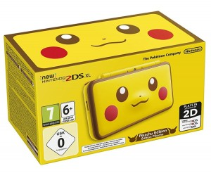 Konsola New Nintendo 2DS XL Pikachu Edition