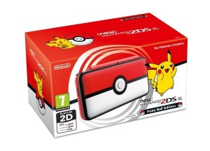 Konsola New Nintendo 2DS XL Pokéball Edition