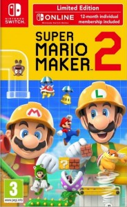 Super Mario Maker 2 + NSO Limited Edition