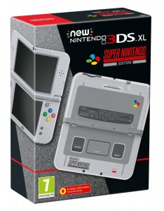 Konsola New Nintendo 3DS XL SNES Edition