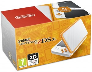 Konsola New Nintendo 2DS XL White + Orange