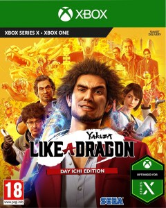Yakuza Like a Dragon Day Ichi Steelbook Edition (PREMIERA:13/11/2020)
